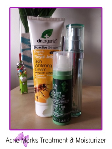 acne marks treatment & moisturizer