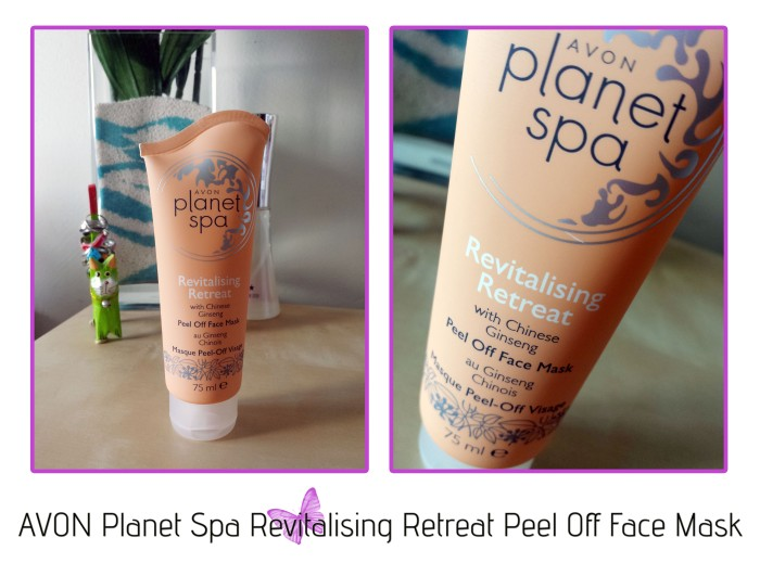 AVON Planet Spa Revitalising Retreat Peel Off Face Mask