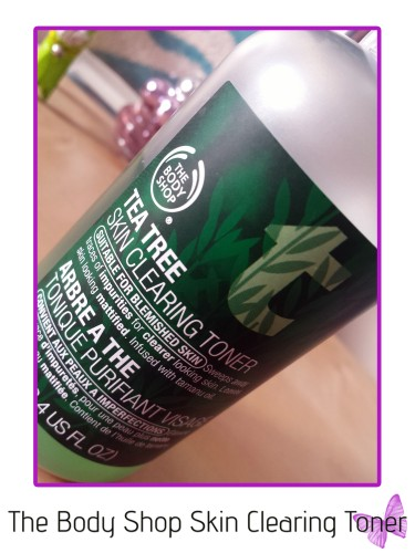 the body shop skin clearing toner