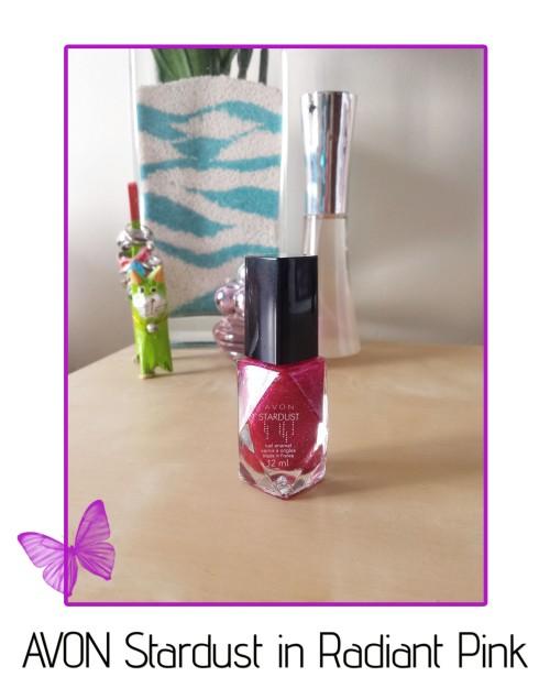 avon stardust radiant pink