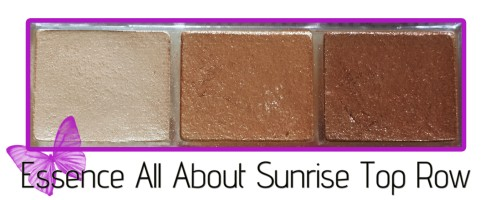 essence all about sunrise top row shades