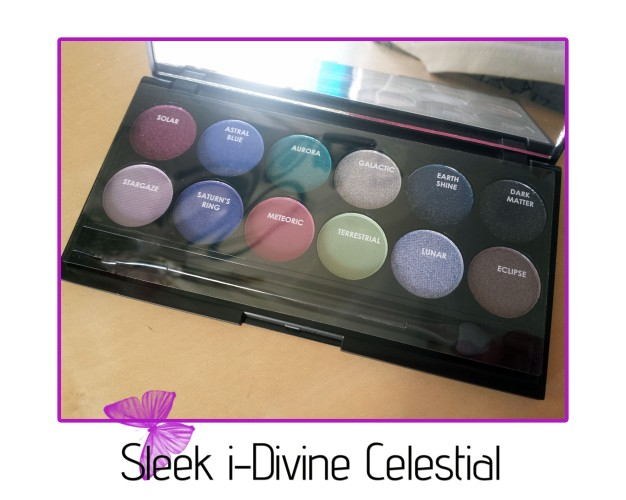 sleek i-divine celestial eyeshadow palette shades