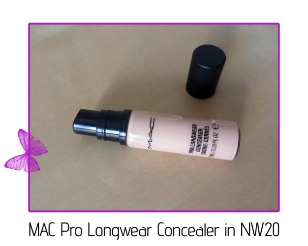 mac pro longwear concealer in nw20