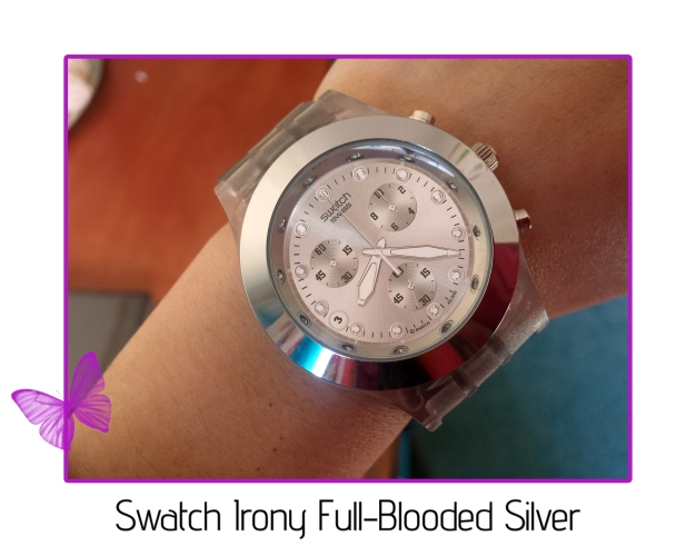 swatch irony full-blooded silver