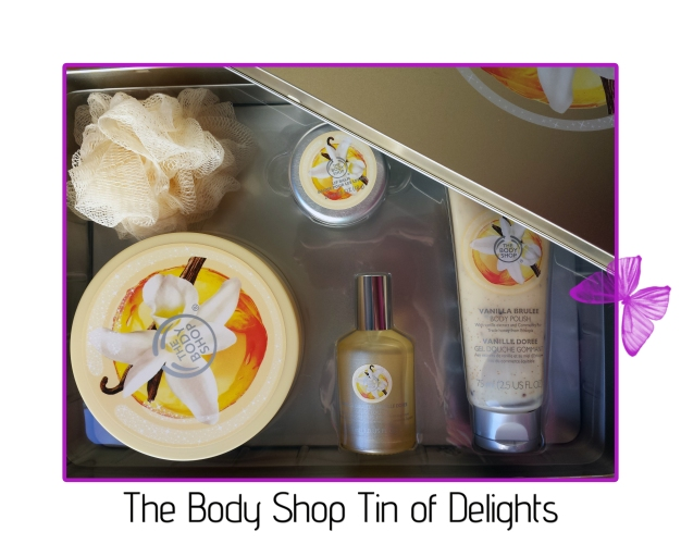 the body shop tin of delights
