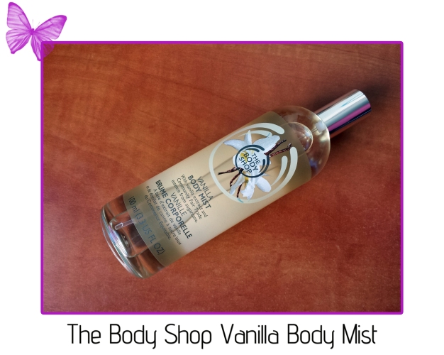 the body shop vanilla body mist