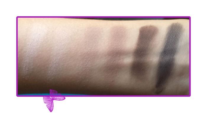 catrice absolute matt eyeshadow palette swatches