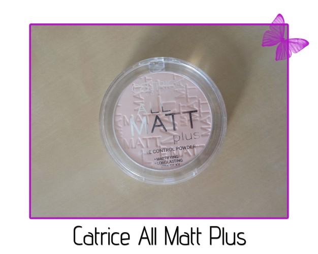 catrice all matt plus oil control powder