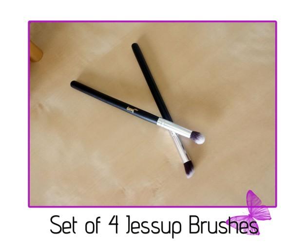 set of 4 jessup brushes