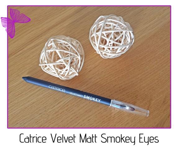 Catrice Velvet Matt Smokey Eyes