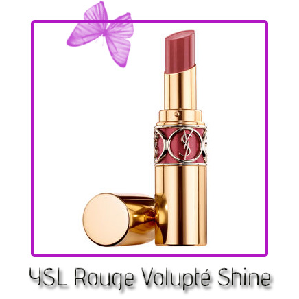 ysl rouge volupté shine in 08 pink in confidence