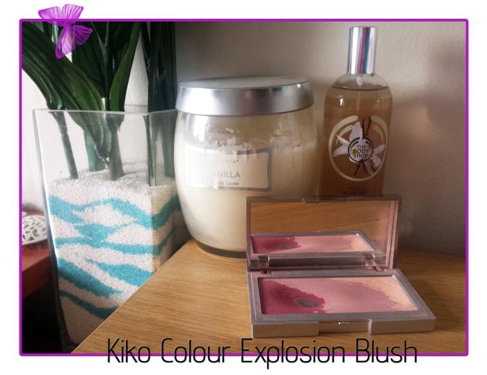 kiko colour explosion blush