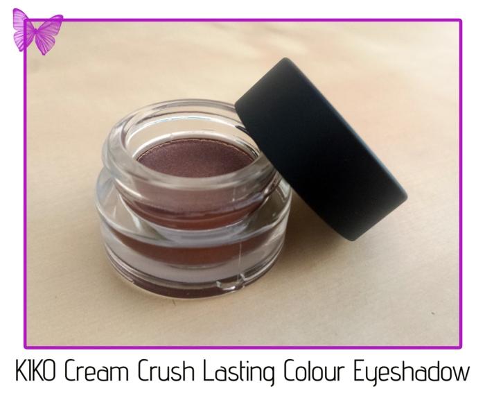 KIKO Cream Crush Lasting Colour Eyeshadow