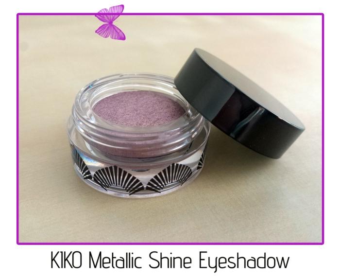 KIKO Metallic Shine Eyeshadow